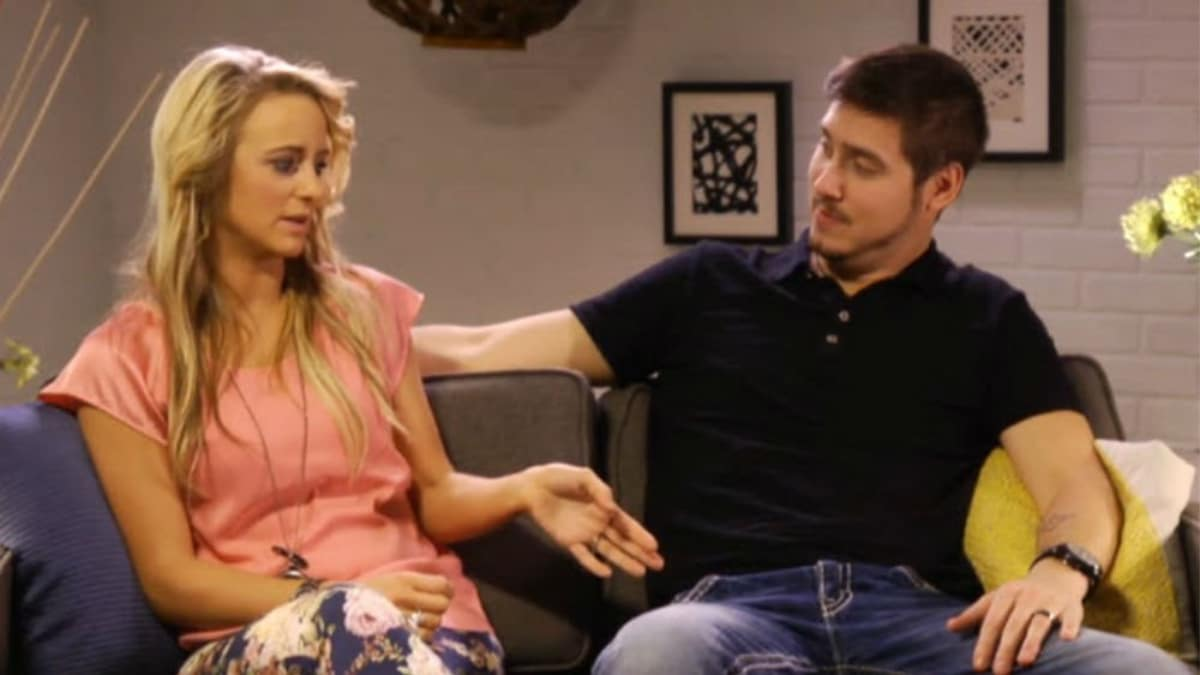 Leah Messer flirting with Jeremy