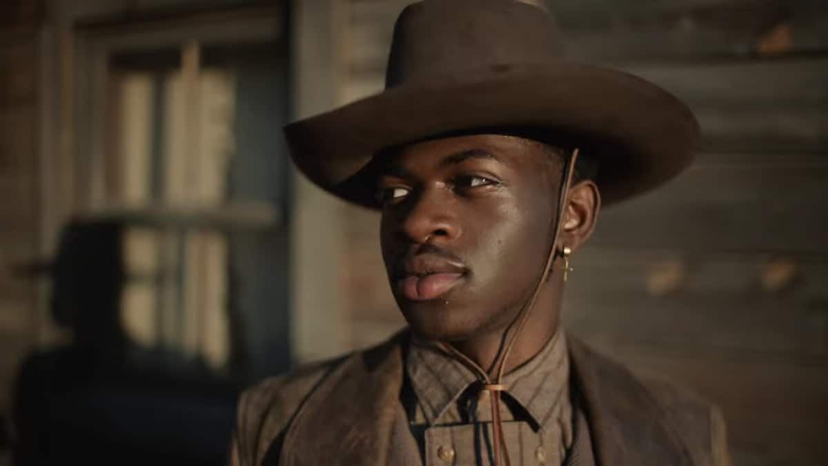 Lil Nas X in Old Town Road official movie