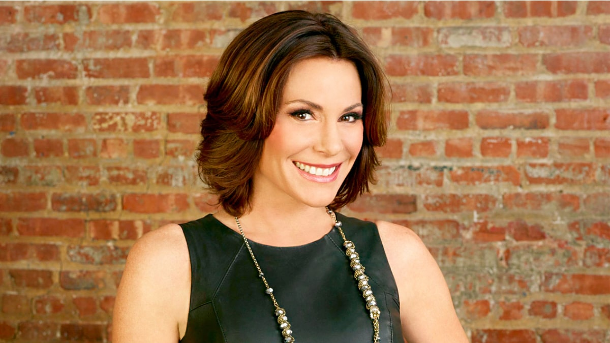Luann de Lesseps in a promotional photo for The Real Housewives of New York