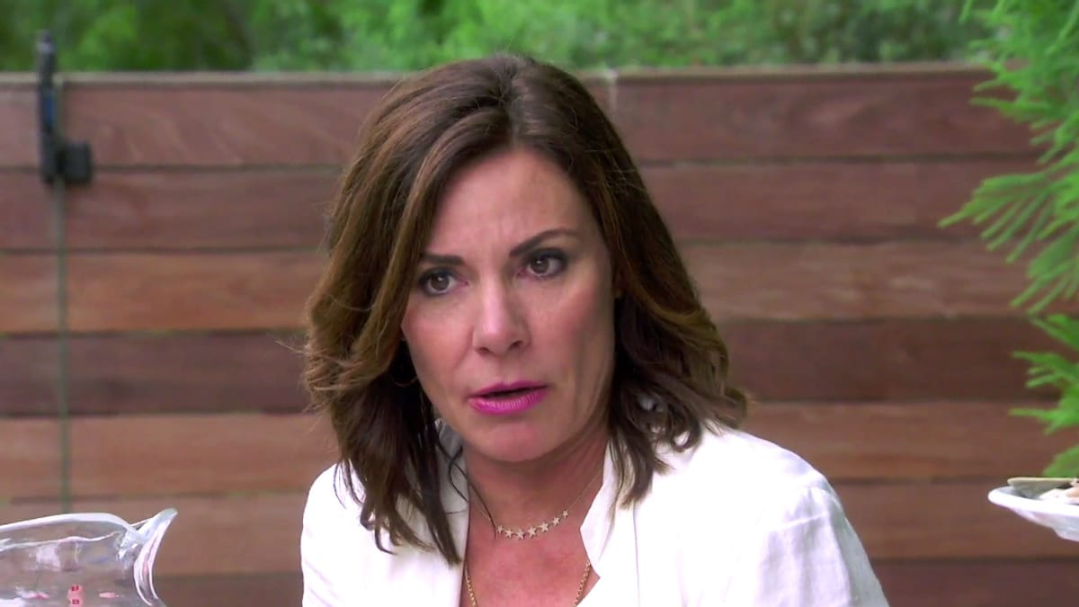 Luann de Lesseps on The Real Housewives of New York