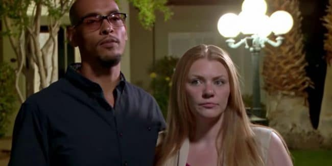 Marcelino and Brittany during a Love After Lockup confessional