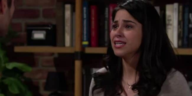 Noemi Gonzalez as Mia on The Young and the Restless.