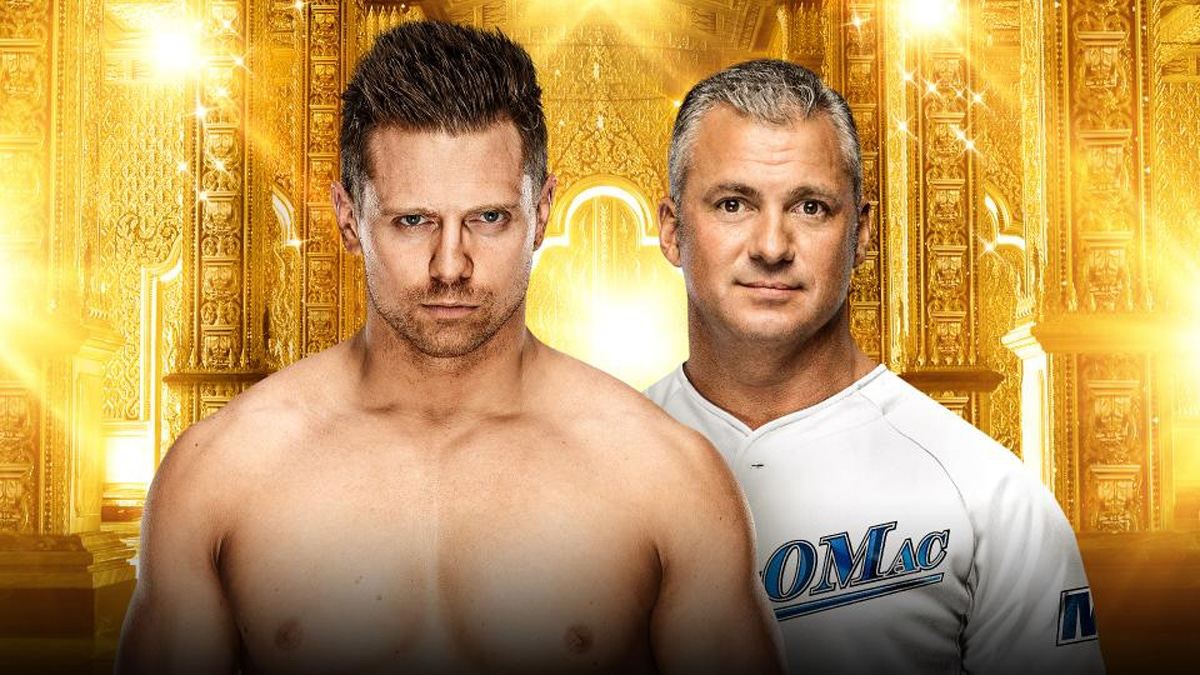 The Miz vs. Shane McMahon (Steel Cage Match)