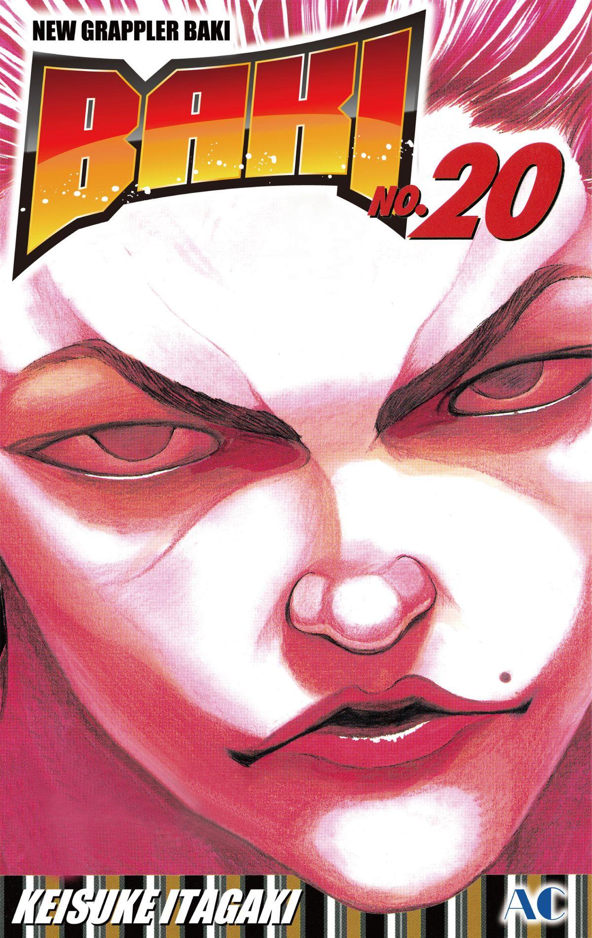 New Grappler Baki Manga Volume 20