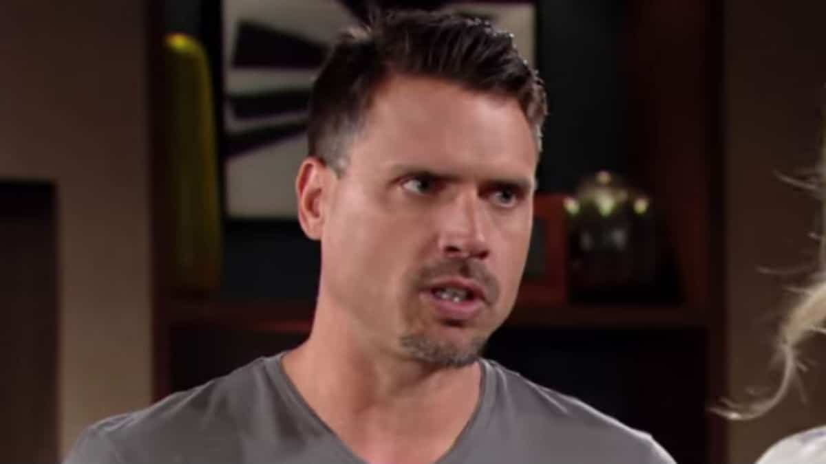Joshua Morrow as Nick Newman on The Young and the Restless.