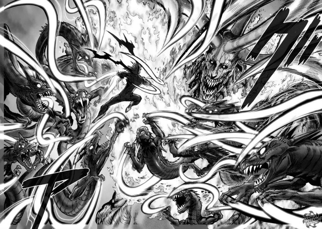 One Punch Manga Manga Garou vs Orochi