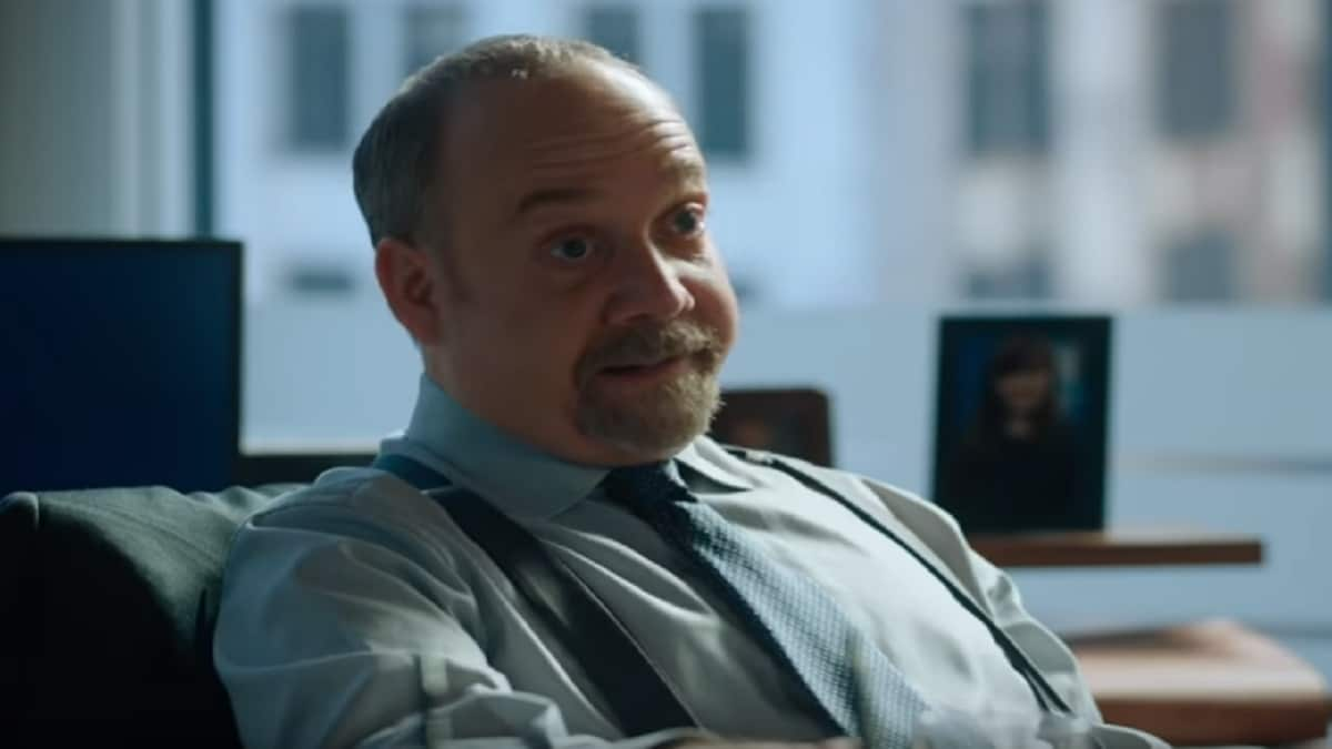 Paul Giammati as Chuck Rhoades on Billions cast