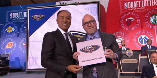 The New Orleans Pelicans have the first pick of the 2019 NBA Draft