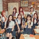 Pristin's promotions for Schxxl Out.