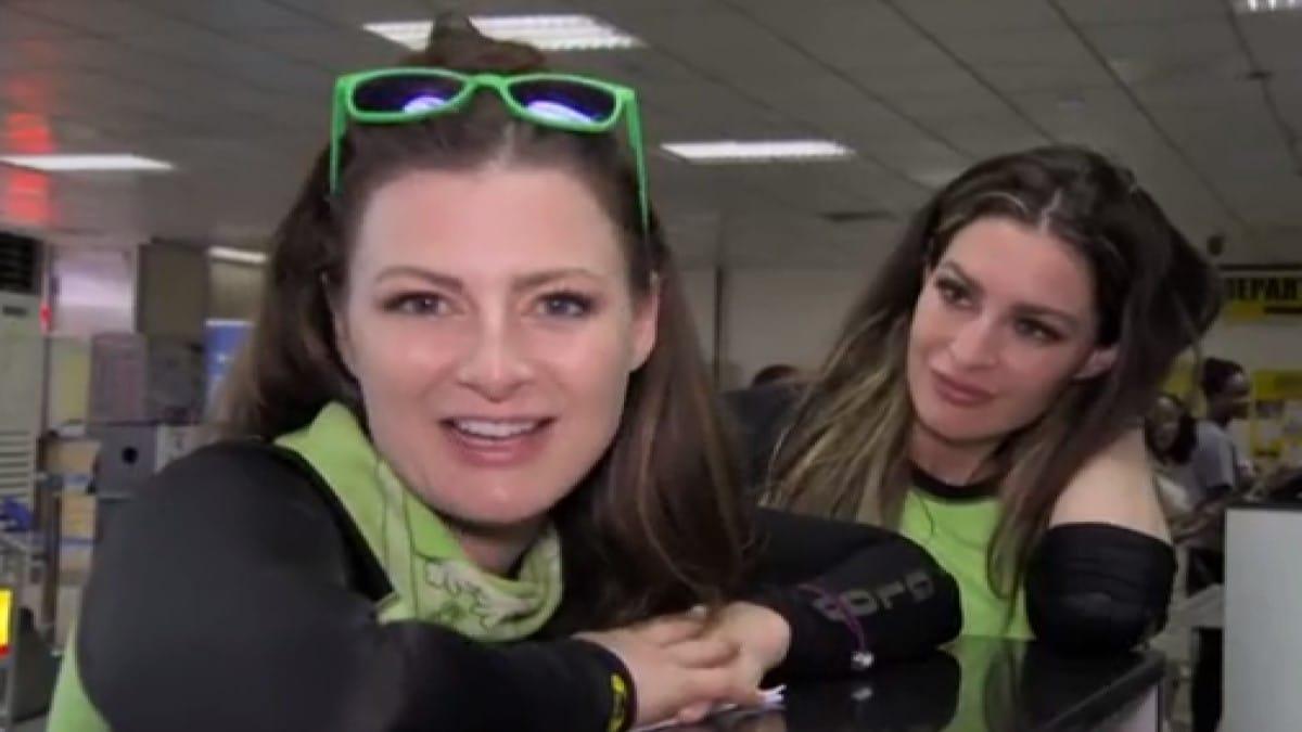 Rachel And Elissa On Amazing Race