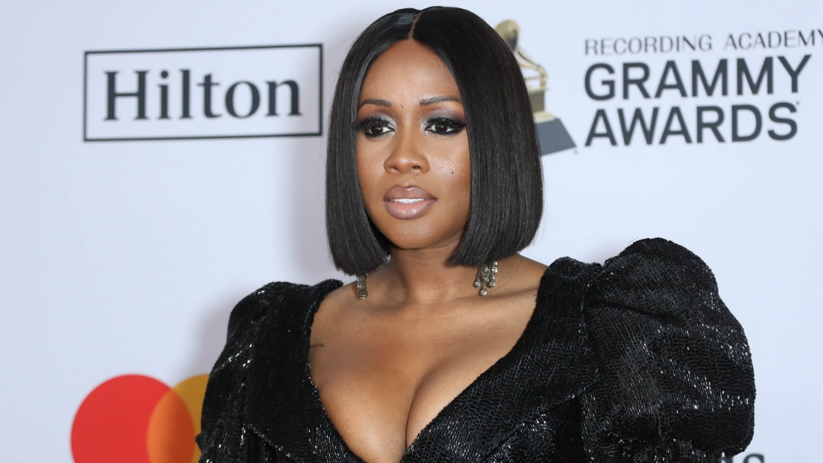 Remy Ma at The 2018 Pre-GRAMMY Gala and GRAMMY Salute to Industry Icons presented by The Recording Academy.