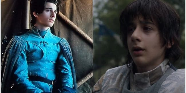 Robin Arryn before and after