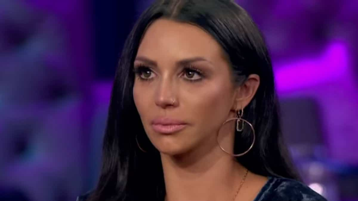 Scheana Marie at the Vanderpump Rules reunion