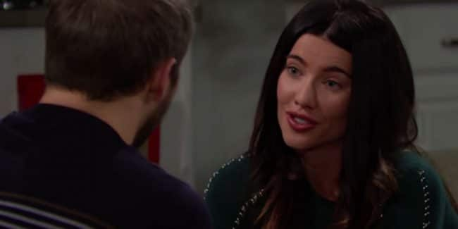 Jacqueline MacInnes Wood as Steffy Forrester on The Bold and the Beautiful.