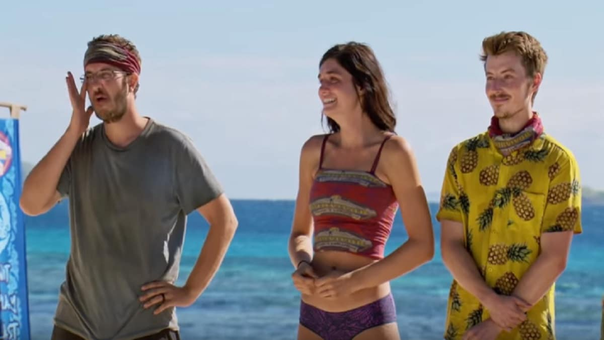 Survivor castaways react to seeing their loved ones on new episode.