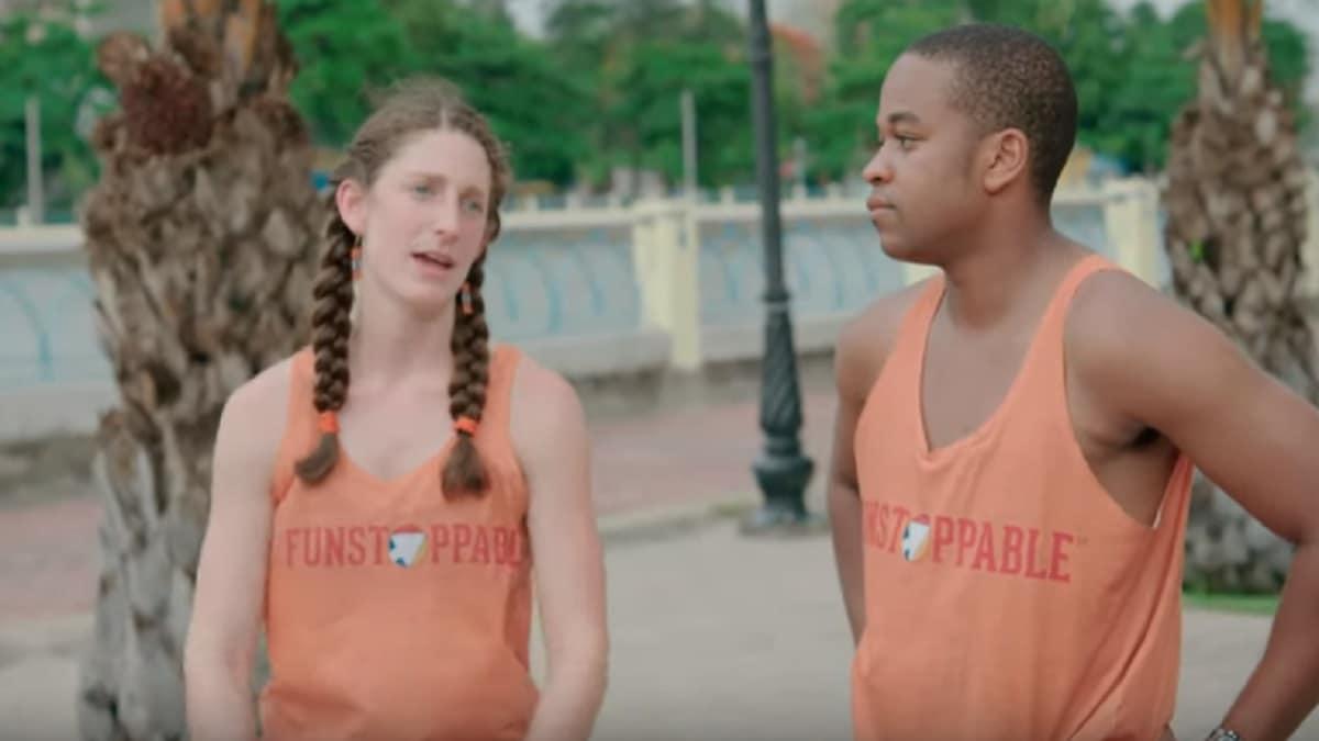 Becca and Floyd as Team Fun on The Amazing Race Season 31
