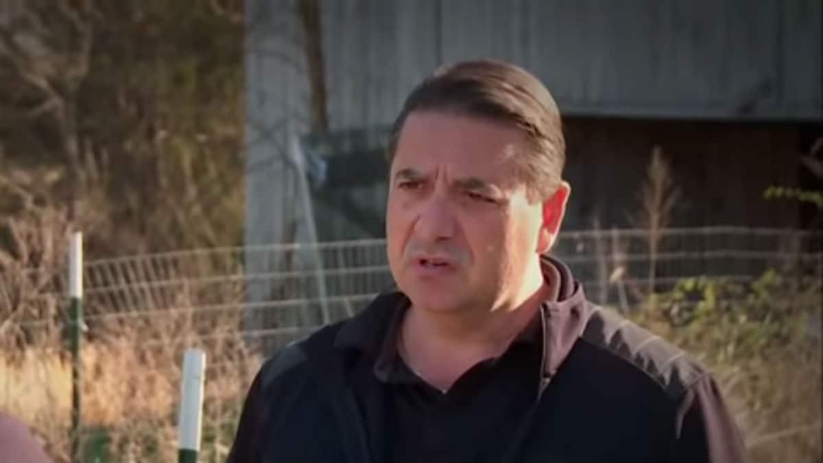 Steve doing an interview for The Dead Files