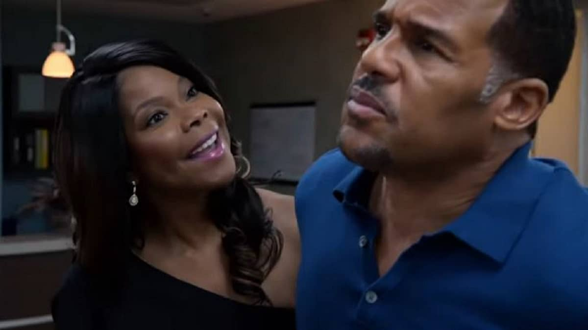 Veronica confronts David on The Haves and The Have Nots