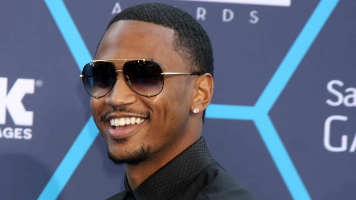 Trey Songz red carpet