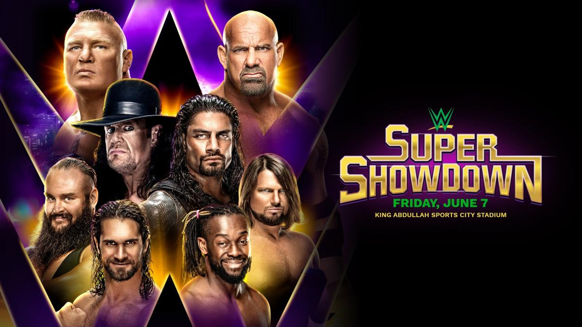 Goldberg opponent named for WWE Super Showdown in Saudi Arabia.