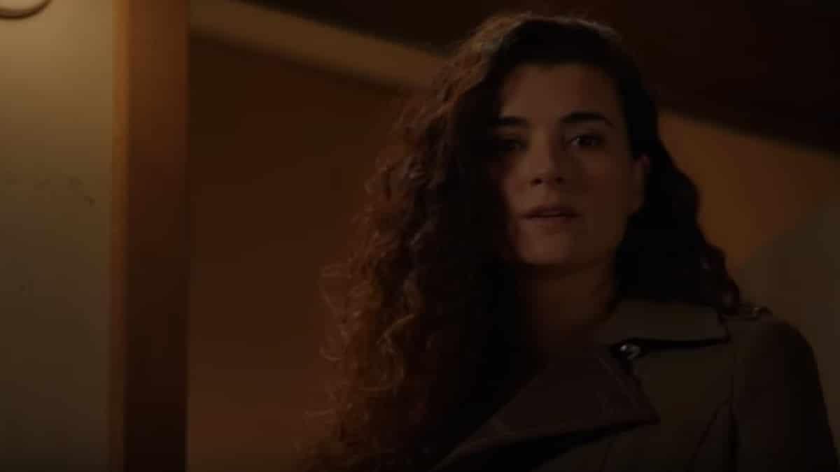 Cote de Pablo as Ziva David on the NCIS Season 16 finale.