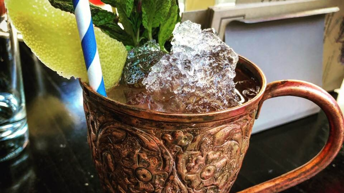 Use a mule type cup for this spicy Sazerac version Pic credit: The Mode Lounge