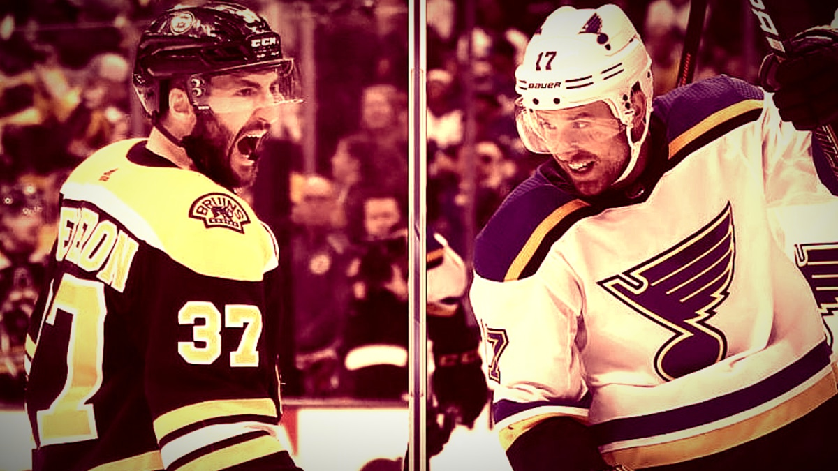 """Which """"B's"""" fan are you? Epic clash tonight begins for the Stanley Cup. Pic credit: NBC Sports"""