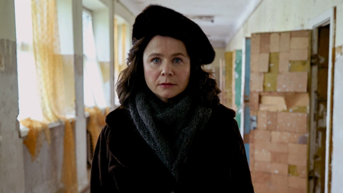 Emily Watson's Ulana is a composite of the brave team that stood with Legasov in their mitigating efforts at Chernobyl.Pic credit: HBO