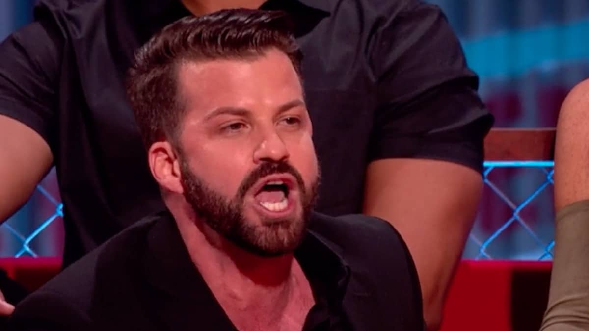 johnny bananas during mtv's the challenge war of the worlds reunion