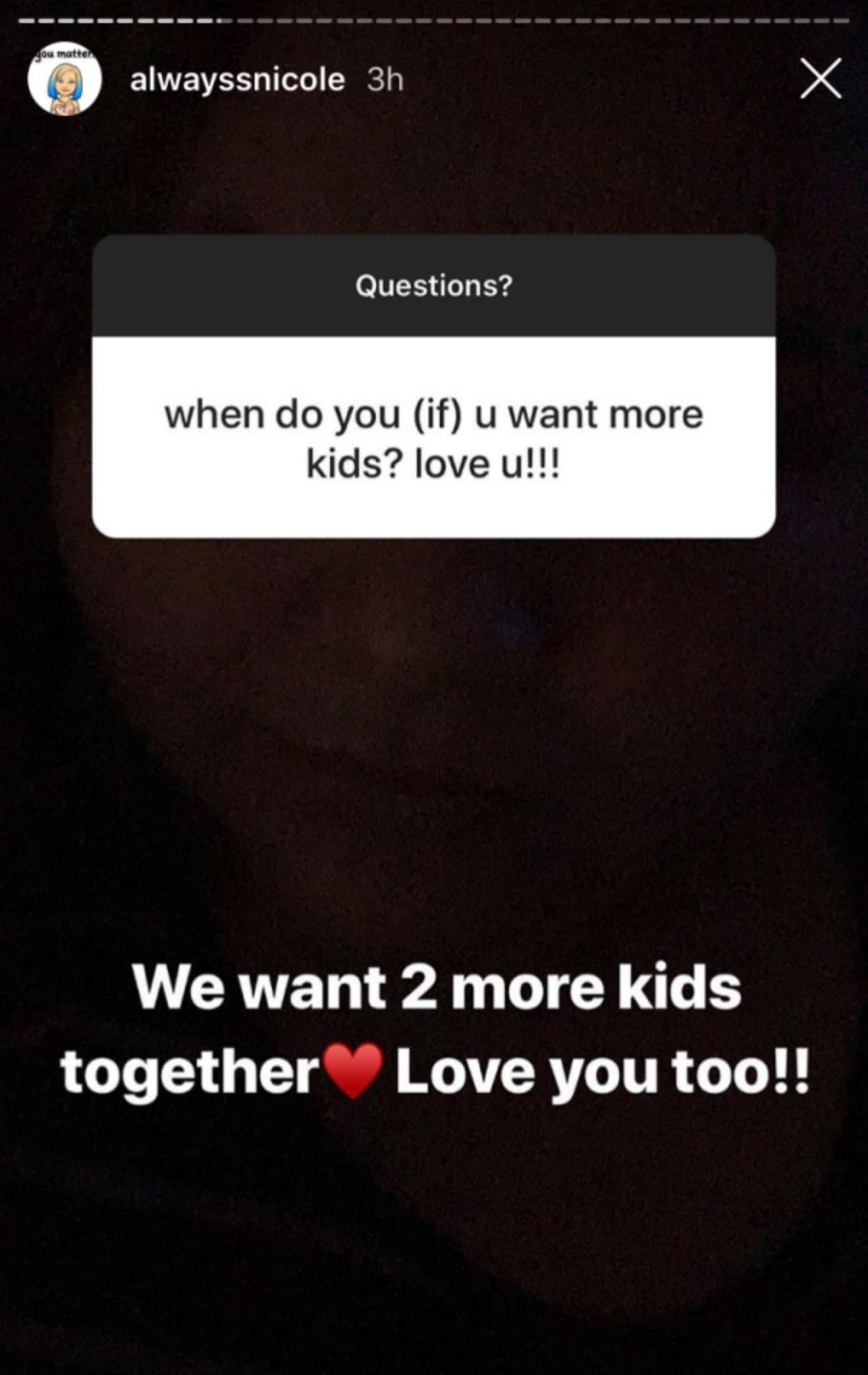 Nicole Nafziger's Instagram Q&A