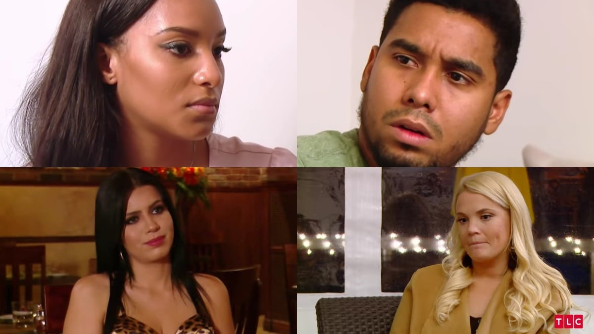 Chantel, Pedro, Larissa and Ashley from 90 Day Fiance: Happily Ever After?