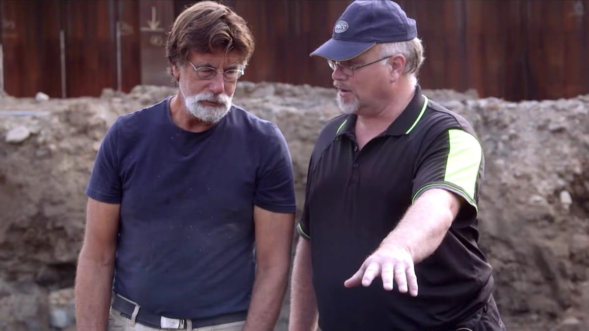 The Curse of Oak Island Season 6 scene