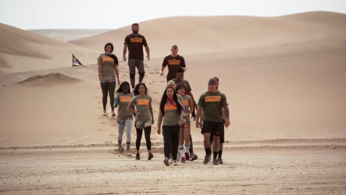 mtv's the challenge war of the worlds location involves desert sands, cold water and other conditions