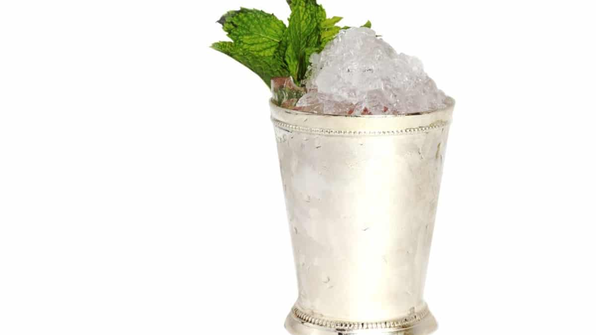 A classic julep from official bourbon of the Derby, Woodford Reserve. Pic credit: Woodford Reserve