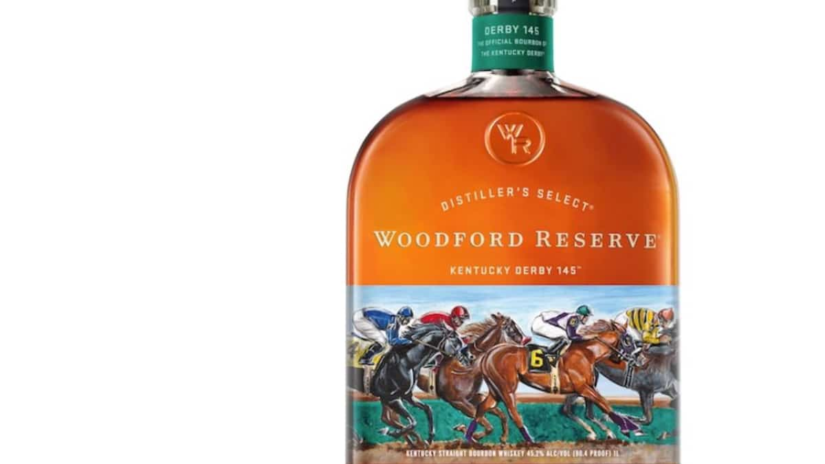 The official bourbon of the Derby! Pic credit: Woodford Reserve