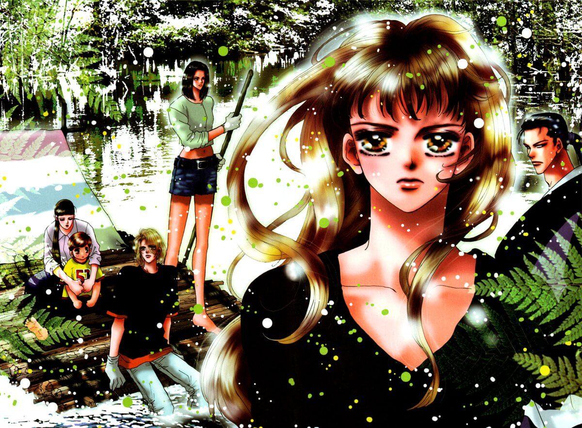 7 SEEDS Manga Art
