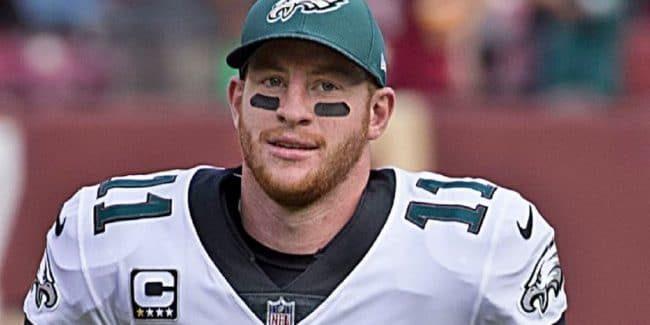 Carson Wentz Philadelphia Eagles QB