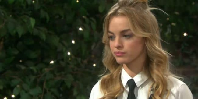 Olivia Rose Keegan as Claire on Days of our Lives .