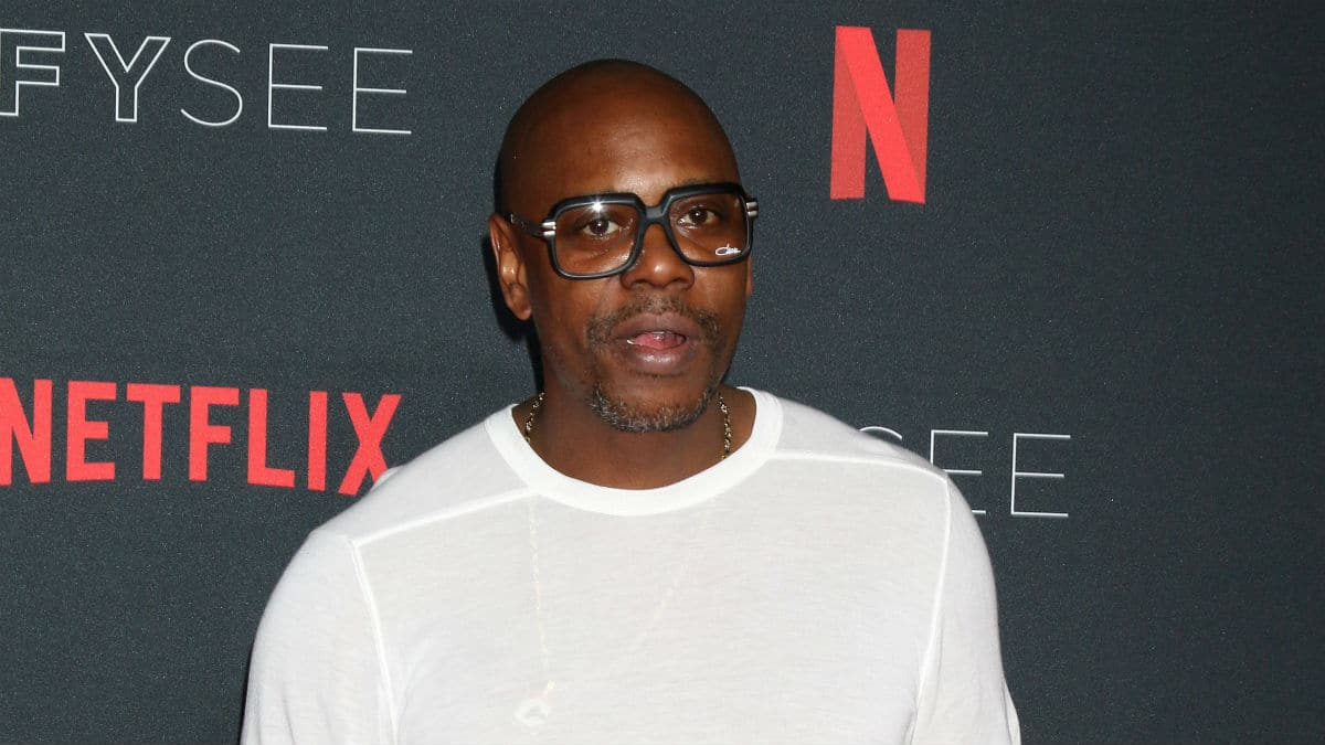 Dave Chappelle at the Netflix FYSEE Kick-Off Event
