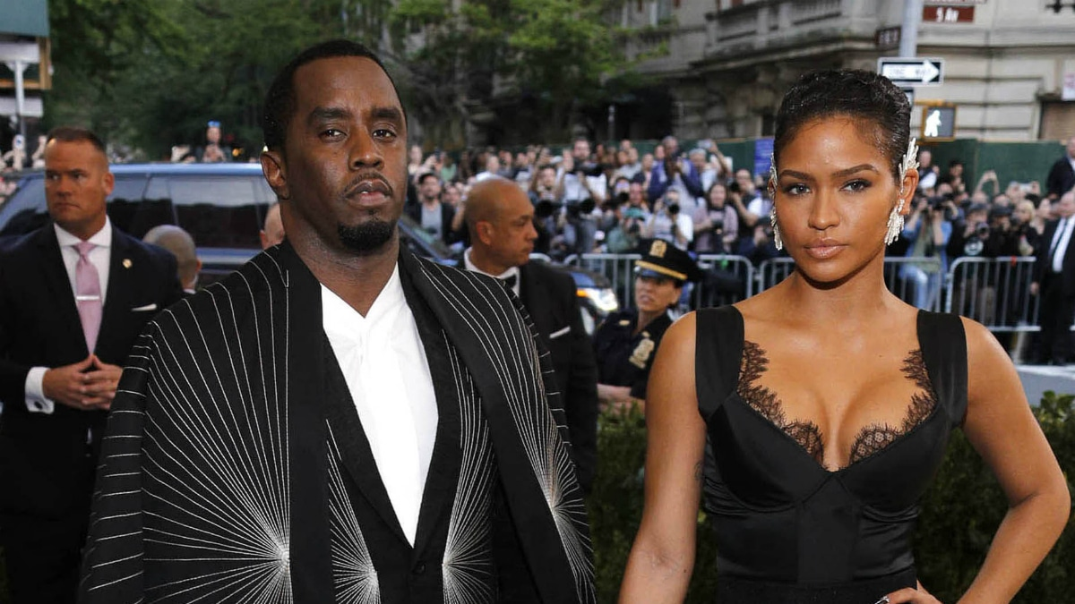 Sean P. Diddy Combs and Cassie Ventura at 2017 Costume Institute Gala