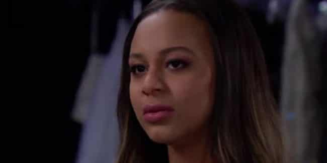 Nia Sioux on The Bold and the Beautiful as Emma.