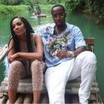 Erica Mena and Safaree Samuels in Jamaica