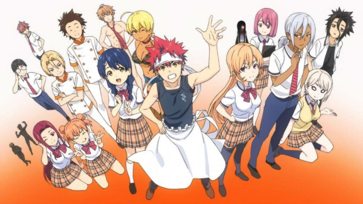 Food Wars! Shokugeki no Soma Season 4 production confirmed Shokugeki no Soma Shin no Sara Food Wars! The Fourth Plate premieres in late 2019