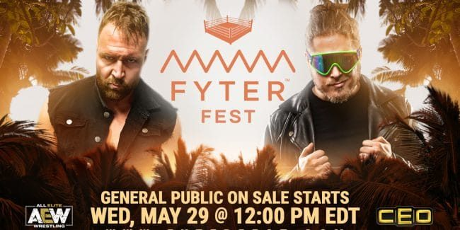 AEW announces how fans can watch their next event Fyter Fest