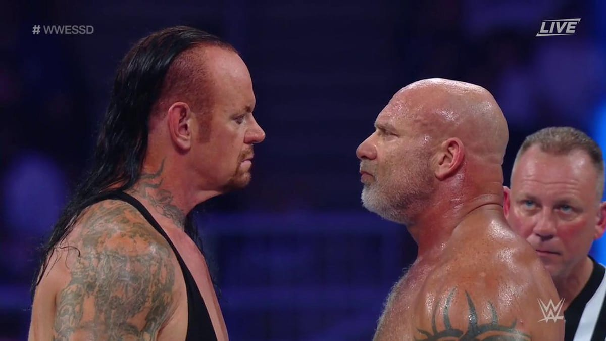 WWE Super Showdown in Saudi Arabia recap, review and grades: Goldberg vs Undertaker headlines WWE PPV