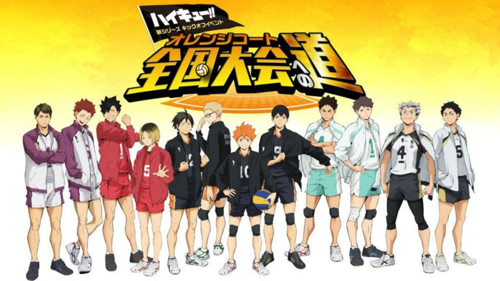 Haikyuu Season 4 Anime Character Designs