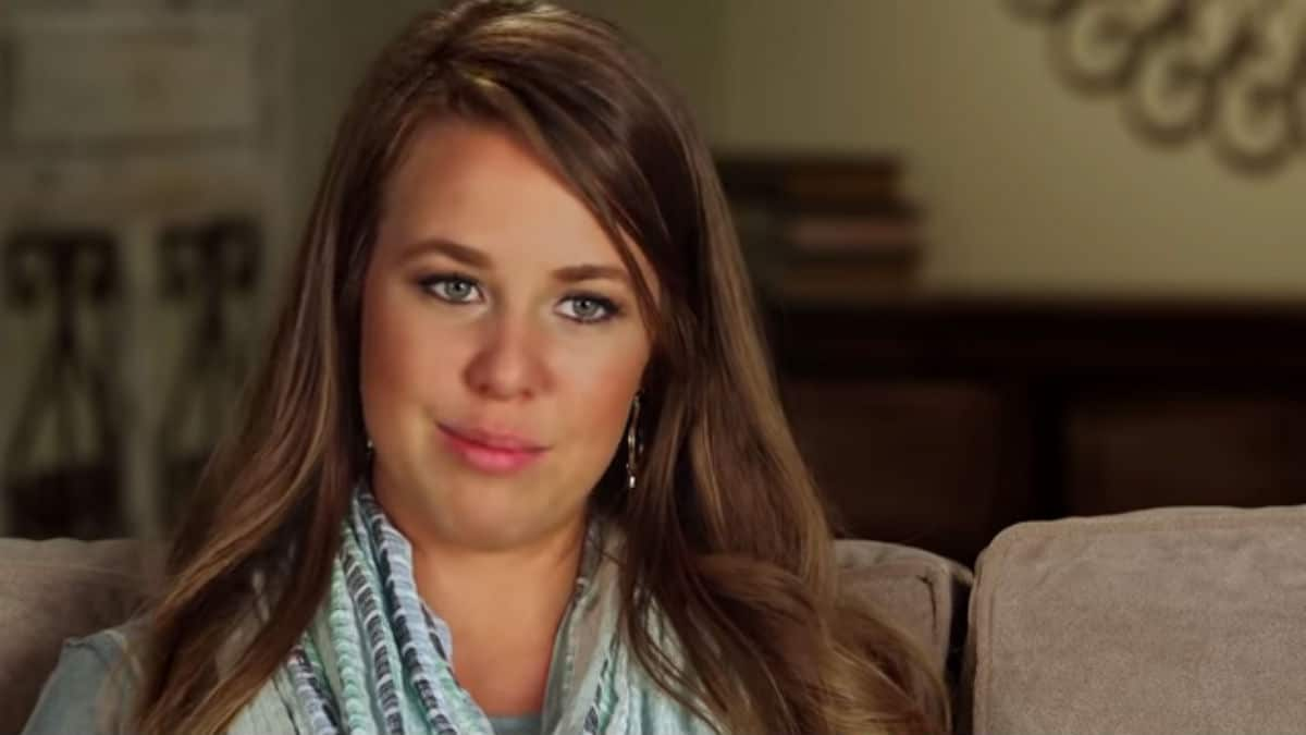 Jana Duggar during her Counting On confessional.