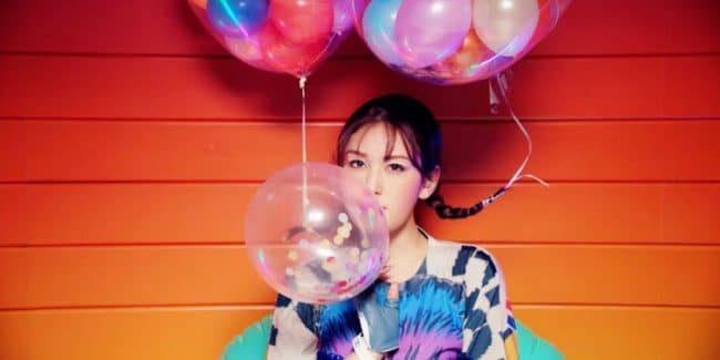 Jeon Somi in Birthday