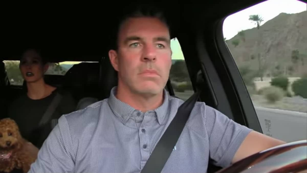 Jim Edmonds while appearing on The Real Housewives of Orange County.