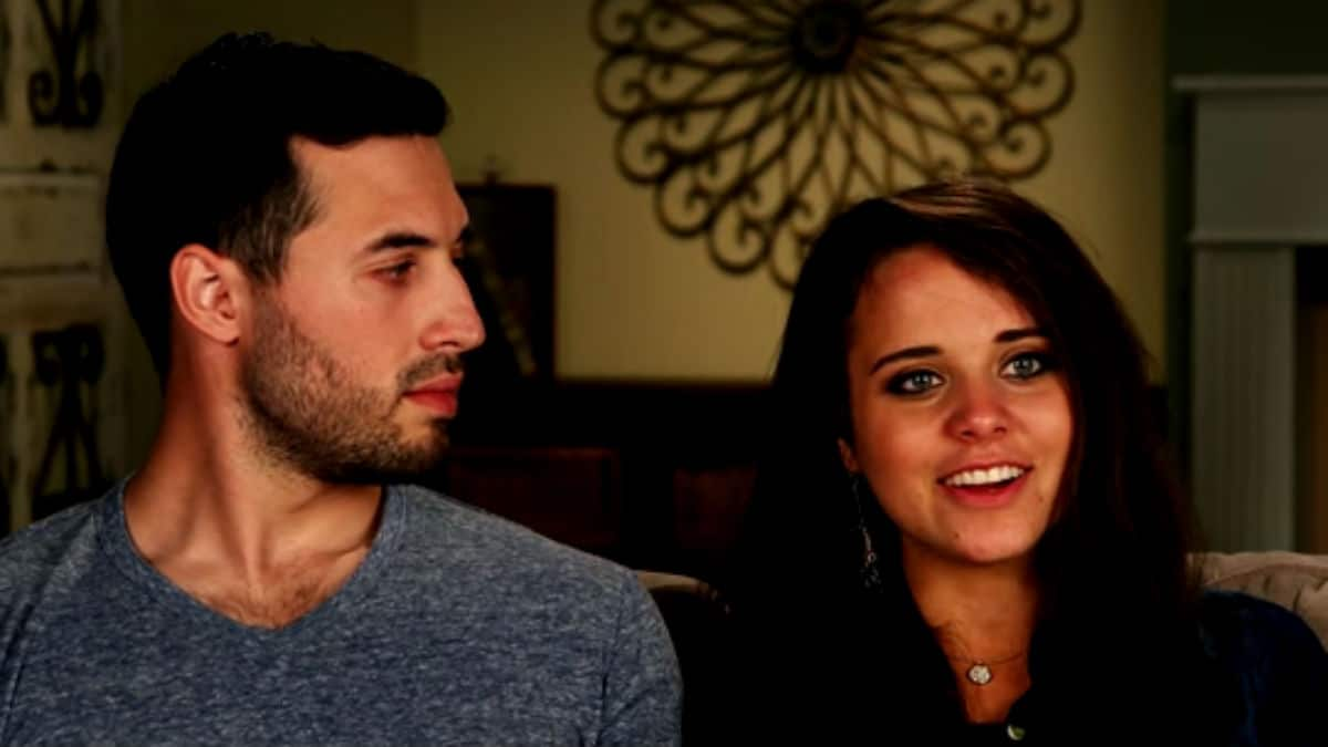 Jinger and Jeremy Vuolo during a Counting On confessional.